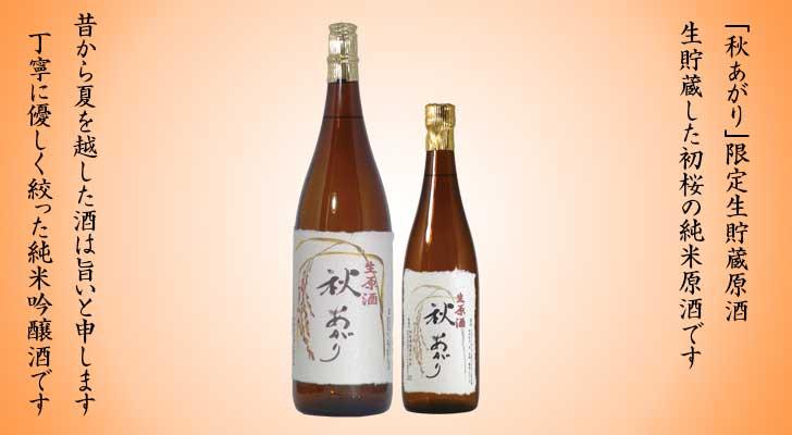 日本酒 初桜 生酒 紀州かつらぎ 川上酒 秋あがり