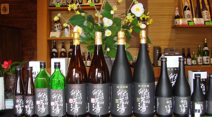初桜の高野山般若湯シリーズ 直売店にて